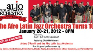 Afro Latin Jazz Orchestra Turns 10!