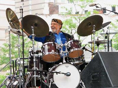 Francisco Mora-Catlett at the Detroit Jazz Fest 2013 - 1