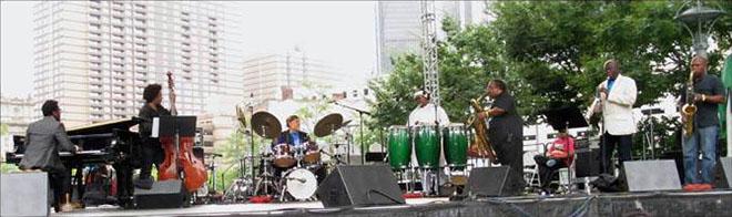 Francisco Mora Catlett at the Detroit Jazz Fest 2013 - 2