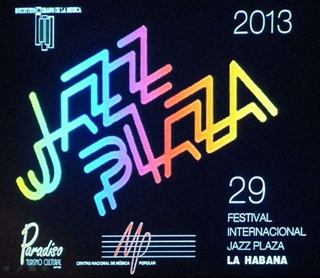 Jazz Plaza 2013 poster