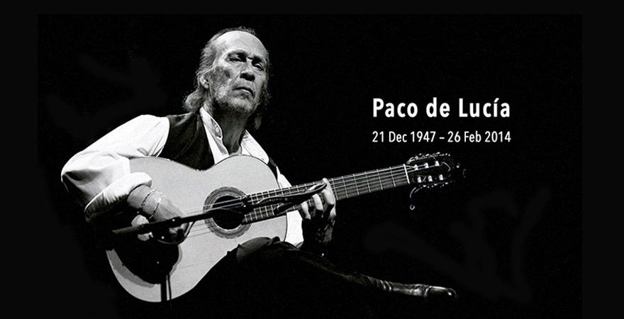 Paco de Lucía RIP
