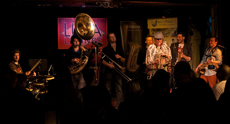 HeavyWeights Brass Band CD release