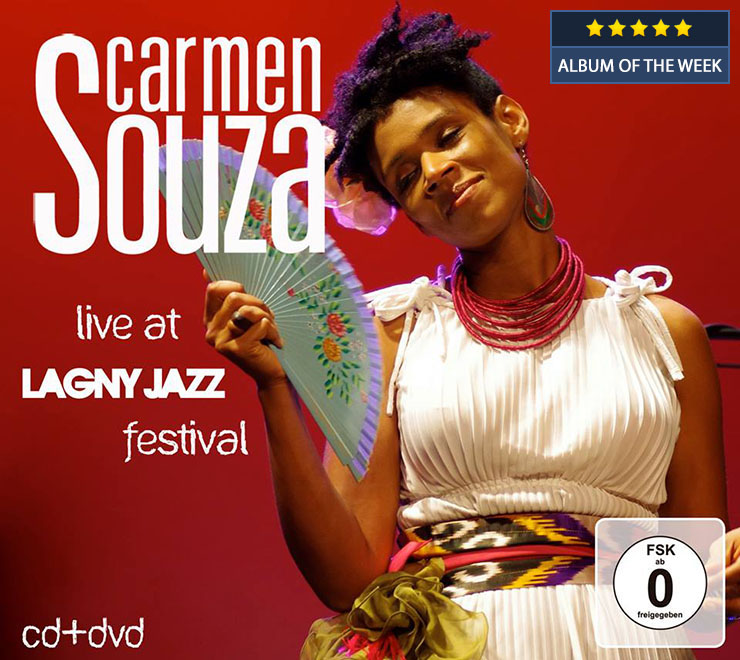 Carmen Souza Live at Lagny Jazz