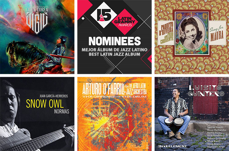 Nominees Latin Grammy Awards 2014