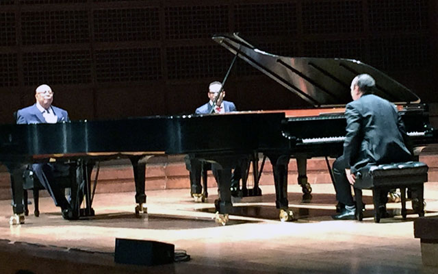 Chucho Valdes, Gonzalo Rubalcaba, Michel Camilo