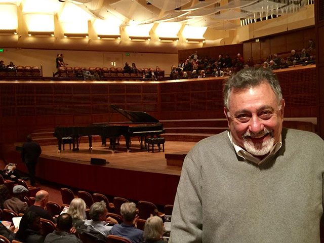 Dave Bass at SF Davies Symphony Hall