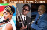 Alexander Brown Quintet feat Hilario Durán & Elizabeth Rodriguez