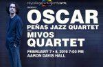 Oscar Peñas Jazz Quartet at the City College Center for the Arts