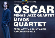 Oscar Peñas Jazz Quartet at the City College Center for the Arts