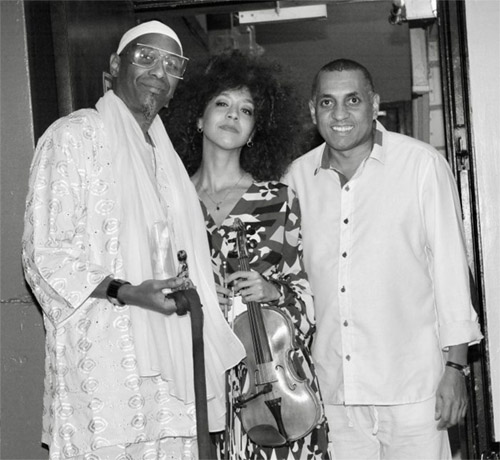 The Aguas Trio - Omar Sosa, Yilian Cañizares, Gustavo Ovalle - Photo by Andrew James