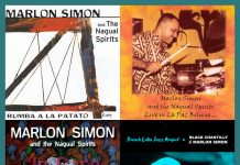 Marlon Simon and The Nagual Spirits / Black Chantilly