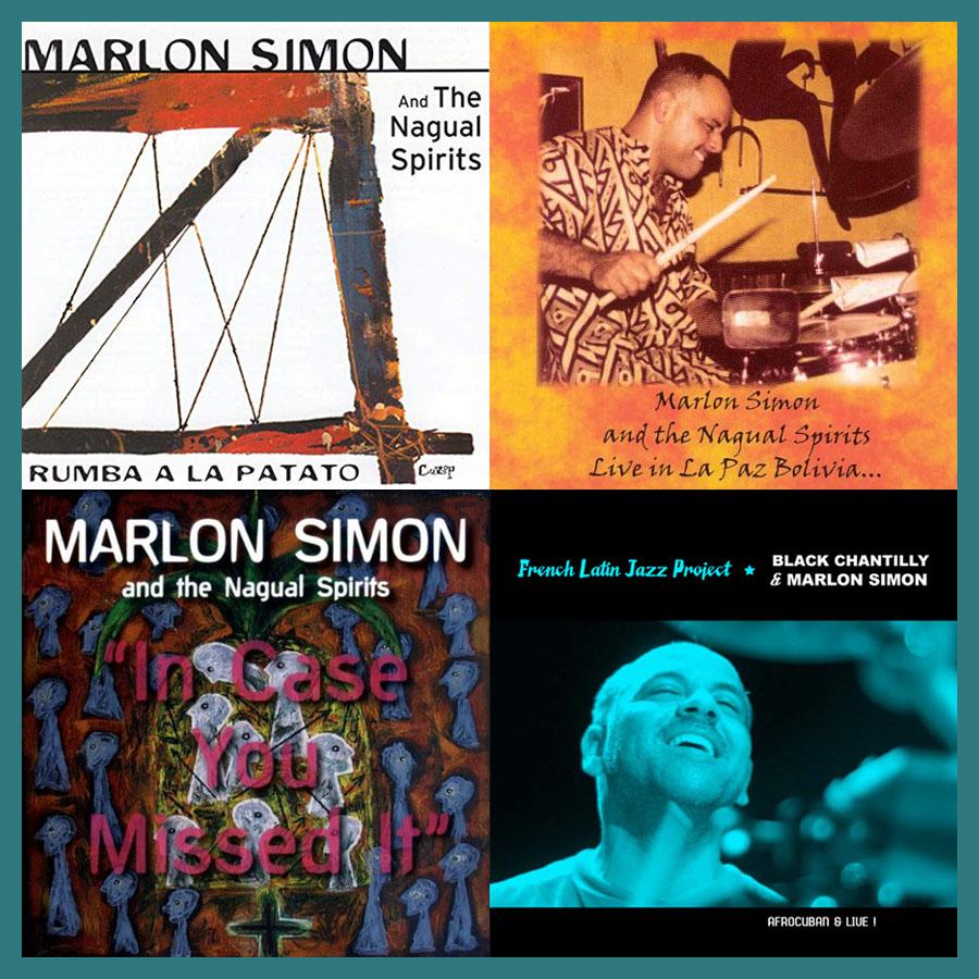 Marlon Simon and The Nagual Spirits / Black Chantilly