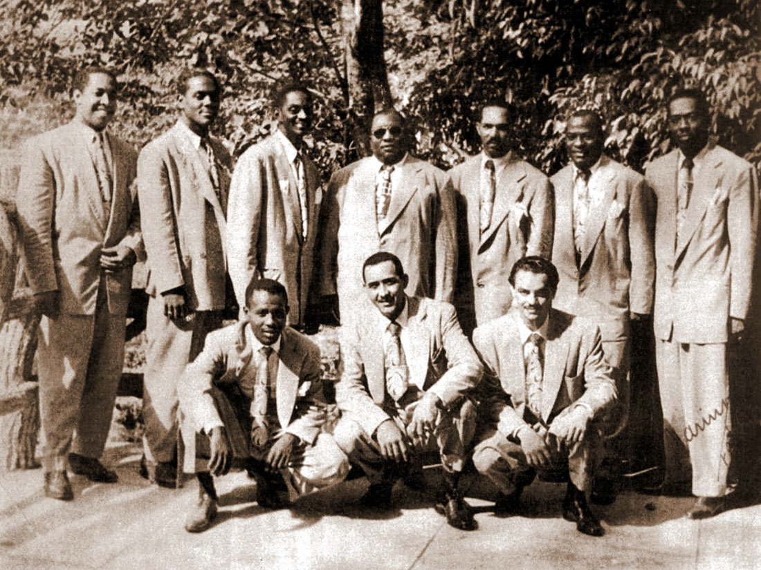 Arsenio Rodríguez and his conjunto in the 1940s