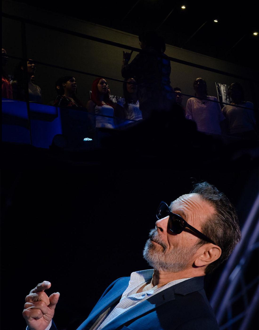 Leo Brouwer Tribute at Fábrica de Arte Cubano. Photo credit: Danilo Navas, Raul Da Gama