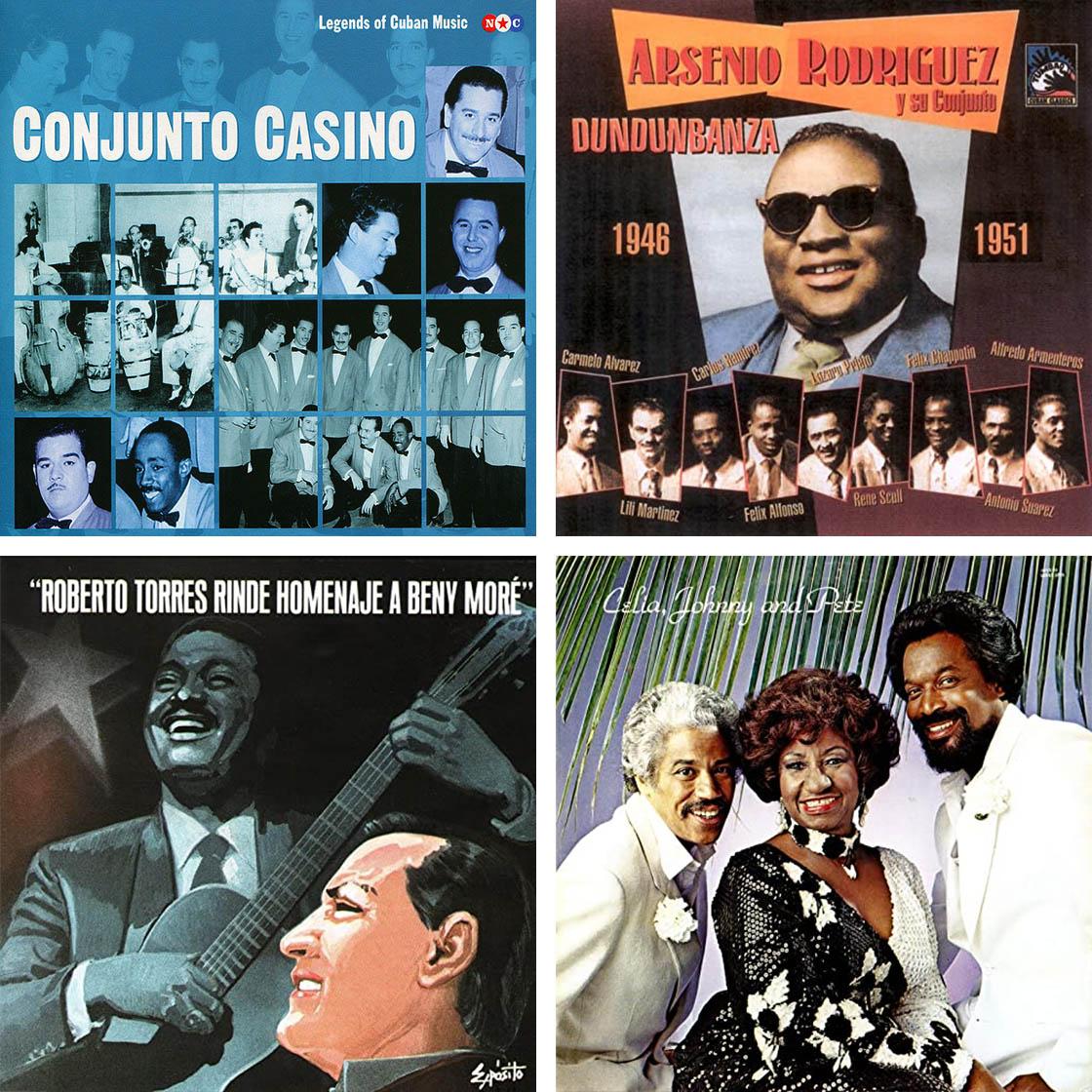 Conjunto Casino, Arsenio Rodriguez, Roberto Torres, Johnny Pacheco
