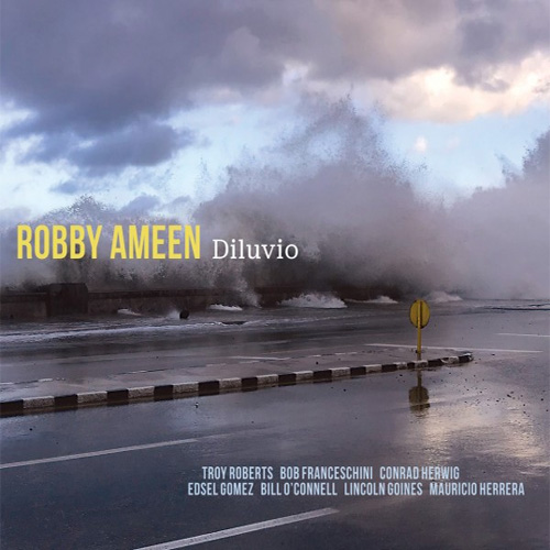 CD cover: Robby Ameen · Diluvio