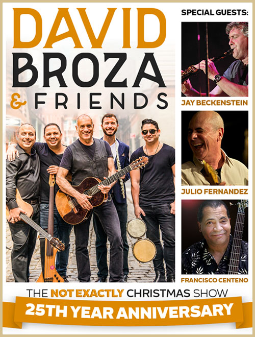 "David Broza & Friends: ""Not Exactly Christmas Show"""