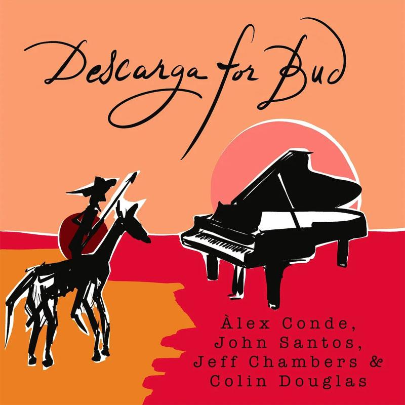 CD cover: Alex Conde · Descarga For Bud