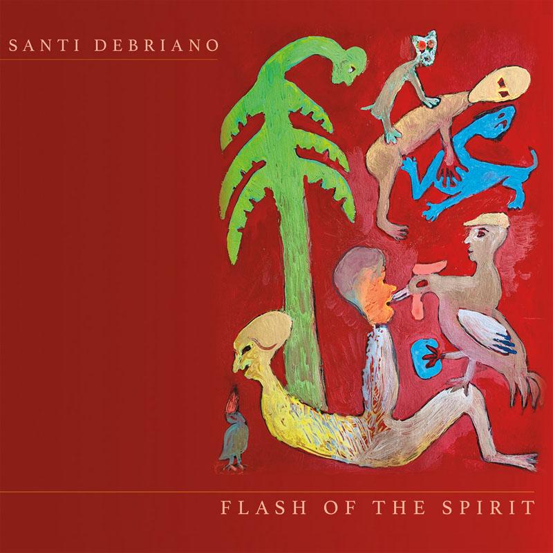 CD cover: Santi Debriano · Flash of the Spirit