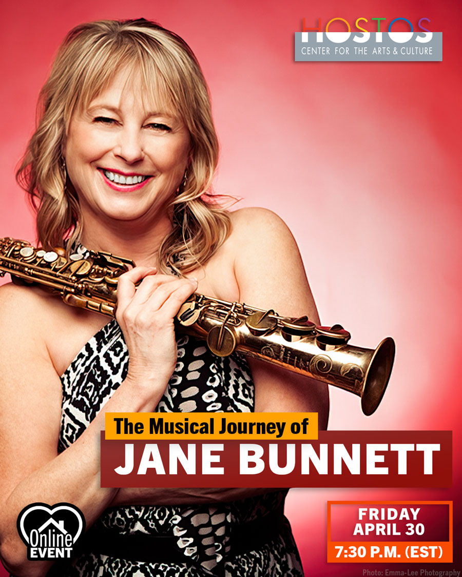 Hostos Center for the Arts & Culture presents: The Musical Journey of Jane Bunnett