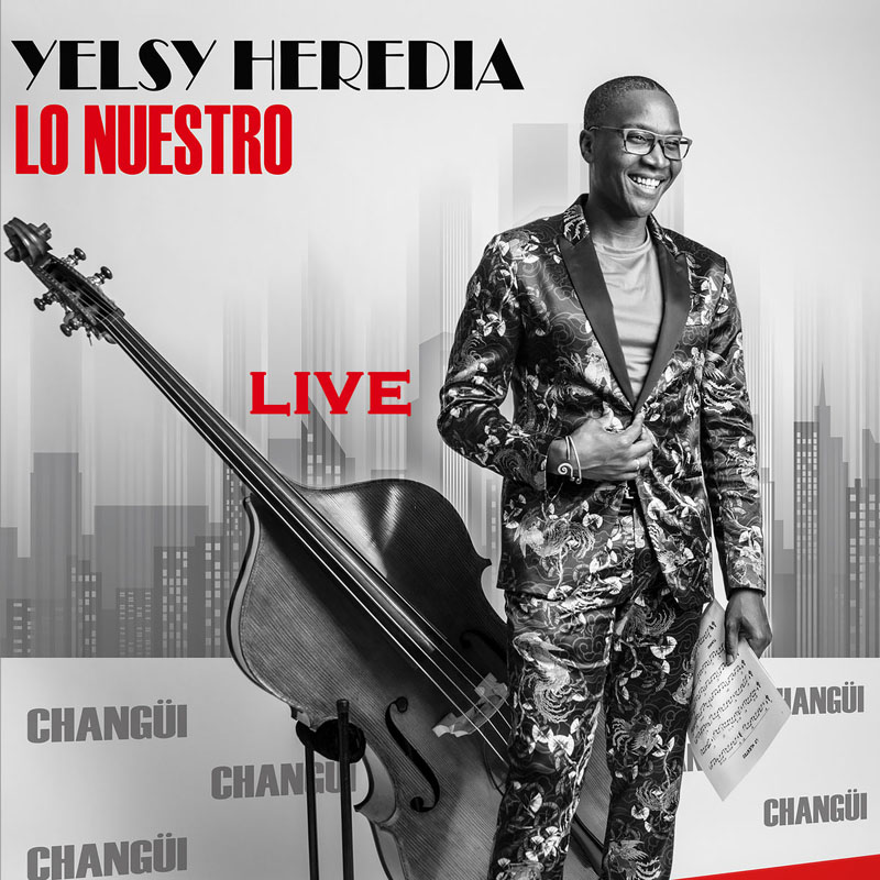 CD cover: Yelsy Heredia - Lo Nuestro Live