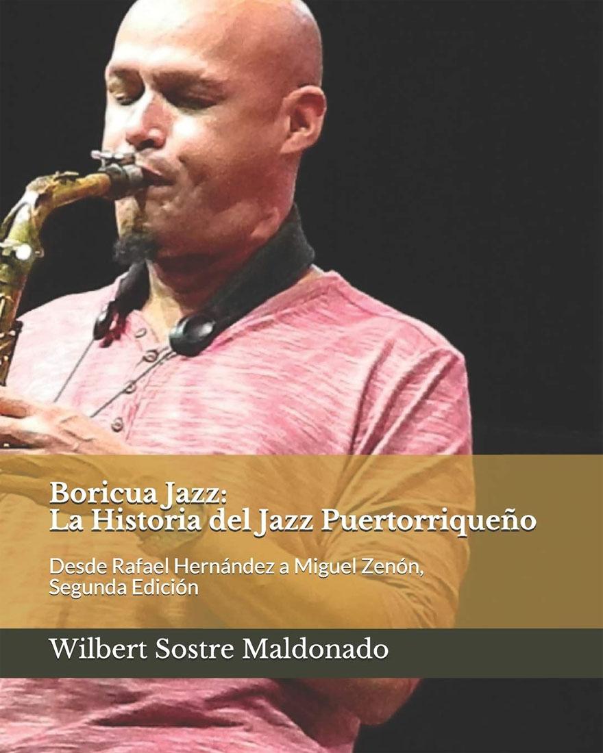 Book cover - Boricua Jazz: La Historia del Jazz Puertorriqueño