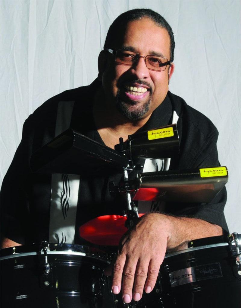 Tycoon Percussion Artist Ralph Irizarry